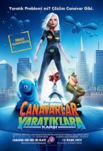 Canavarlar Yaratıklara Karşı – Monsters vs. Aliens 2009 Türkçe Dublaj izle